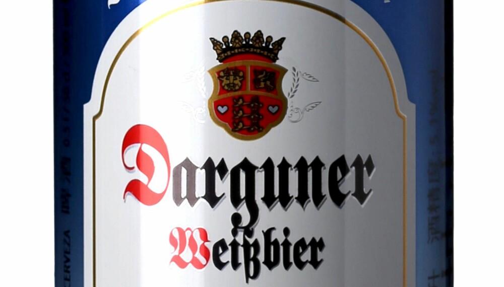 GODT ØL: Darguner Weissbier.