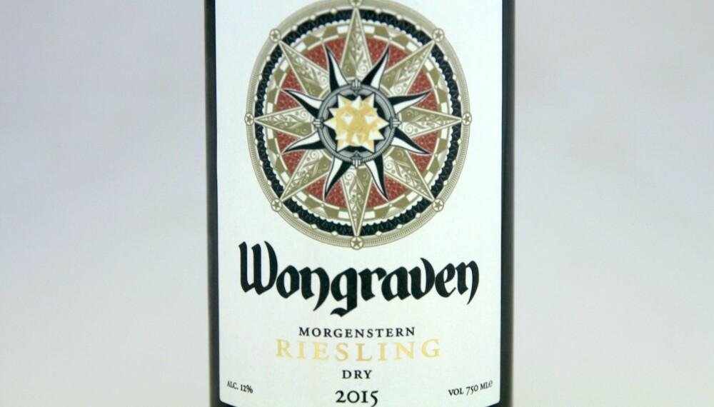 GOD VIN: Wongraven Morgenstern Riesling 2015.