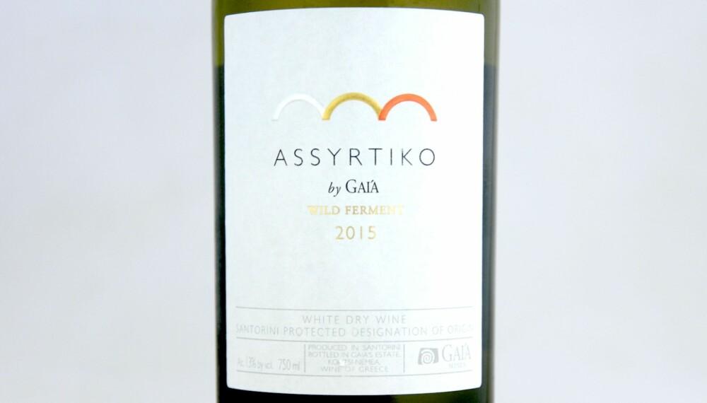 GODT KJØP: Assyrtiko by Gaia Wild Ferment 2015.