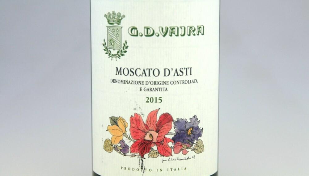 GOD VIN: Vajra Moscato d'Asti 2015.
