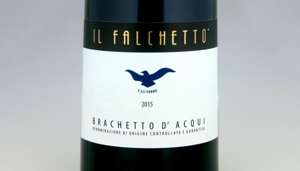 GOD VIN: Il Falchetto Brachetto d'Acqui 2015.