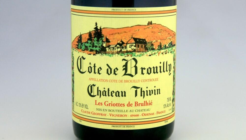 GOD VIN: Ch. Thivin Cuvée Les Griottes Côte de Brouilly 2014.