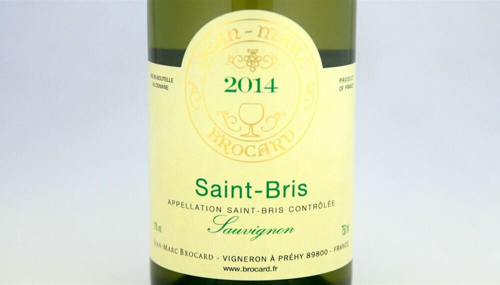 KRABBEVIN: Brocard Saint-Bris Sauvignon 2014.