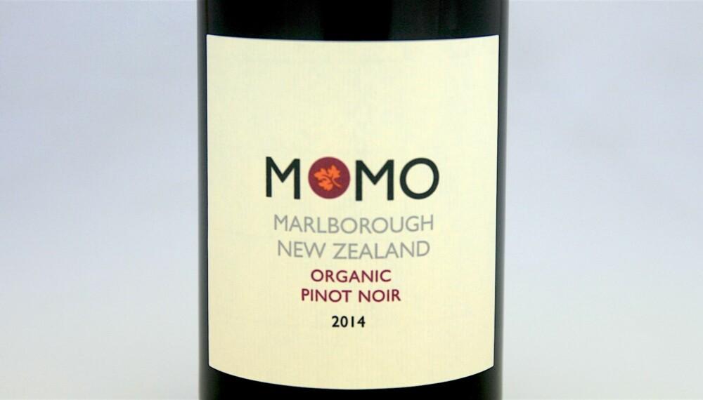 KRABBEVIN: Seresin MOMO Pinot Noir 2014.
