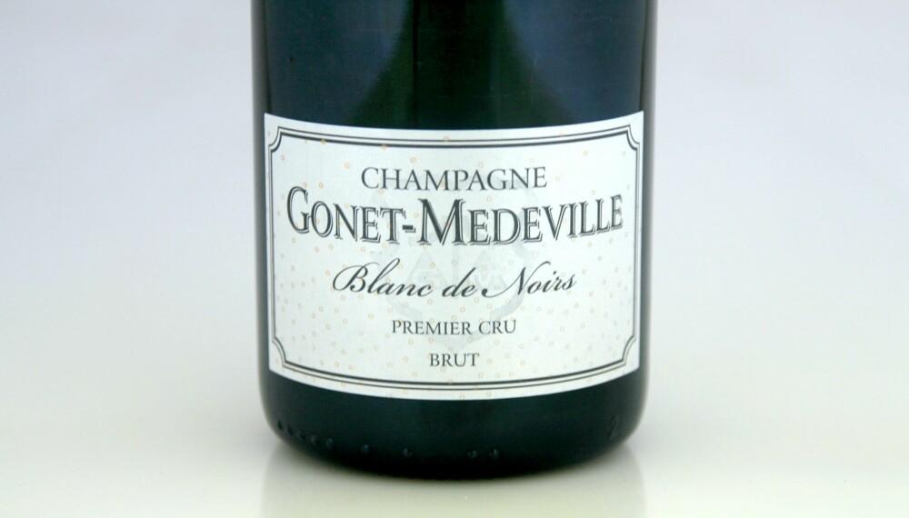 VIN TIL SOPP: Gonet-Medeville Premier Cru Blanc de Noirs Brut.
