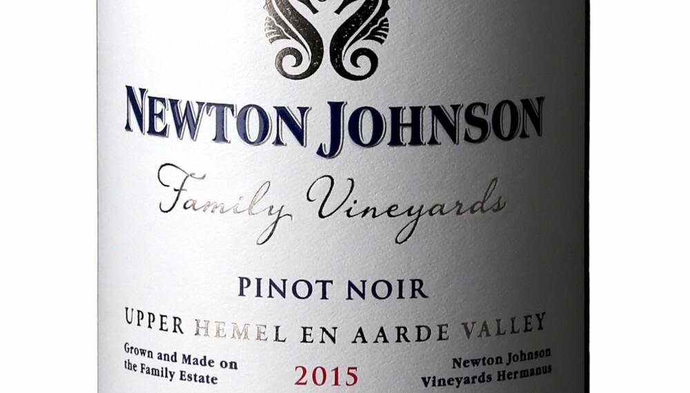 GODT KJØP: Newton Johnson Family Vineyards Pinot Noir 2015.