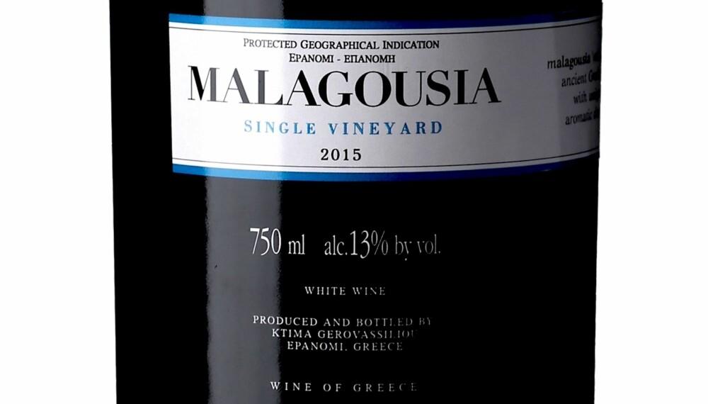 GODT KJØP: Gerovassiliou Malagousia Single Vineyard 2015.
