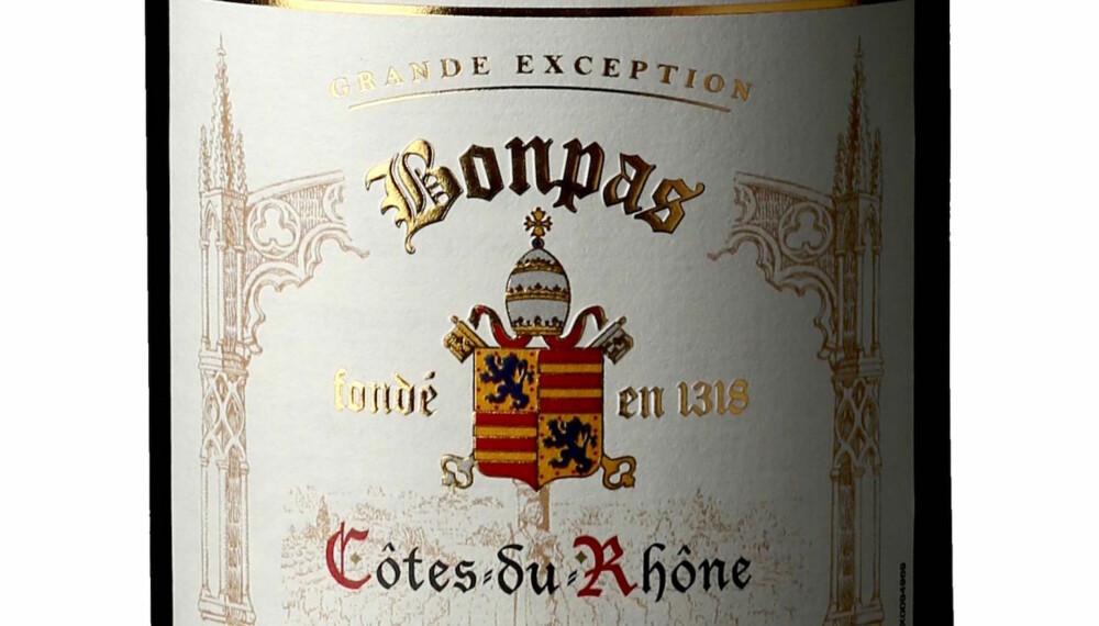 GODT KJØP: Bonpas Côtes-du-Rhône Don Alfant 2014.