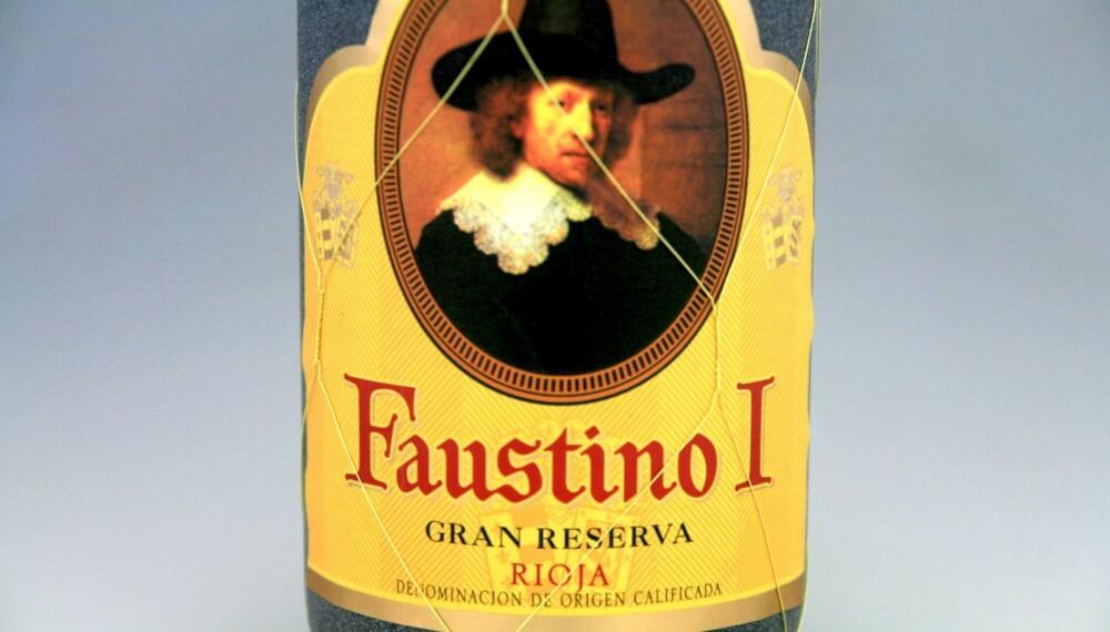 TIL LAM: Faustino I Gran Reserva 2004.