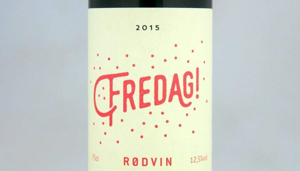 GODT KJØP: Fredag Rødvin 2015.