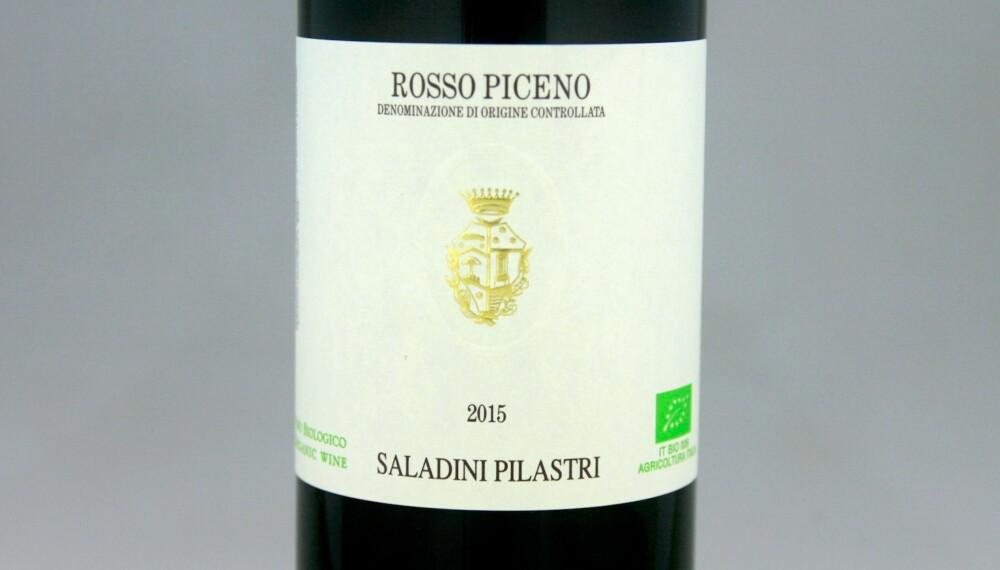 TIL PIZZA: Saladini Pilastri Rosso Piceno 2015.