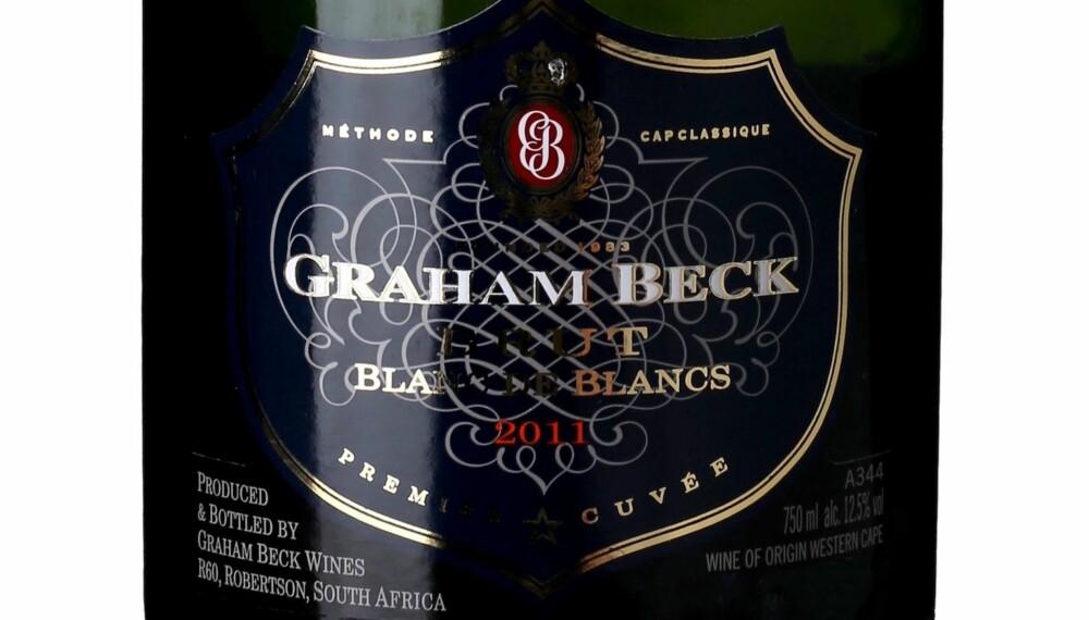 GODT KJØP: Graham Beck Blanc de Blancs 2011.
