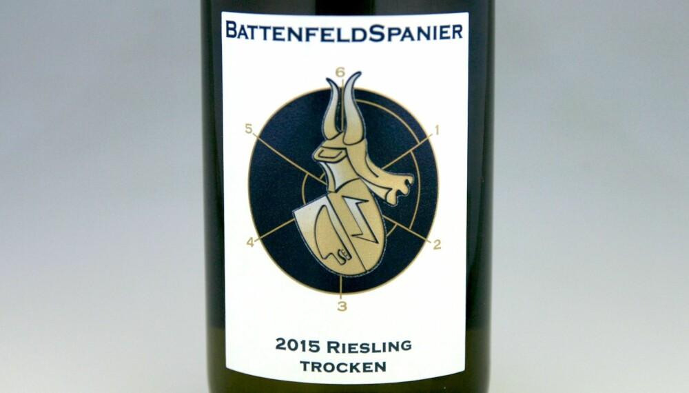 TIL RIBBE: Battenfeld-Spanier Estate Riesling 2015.