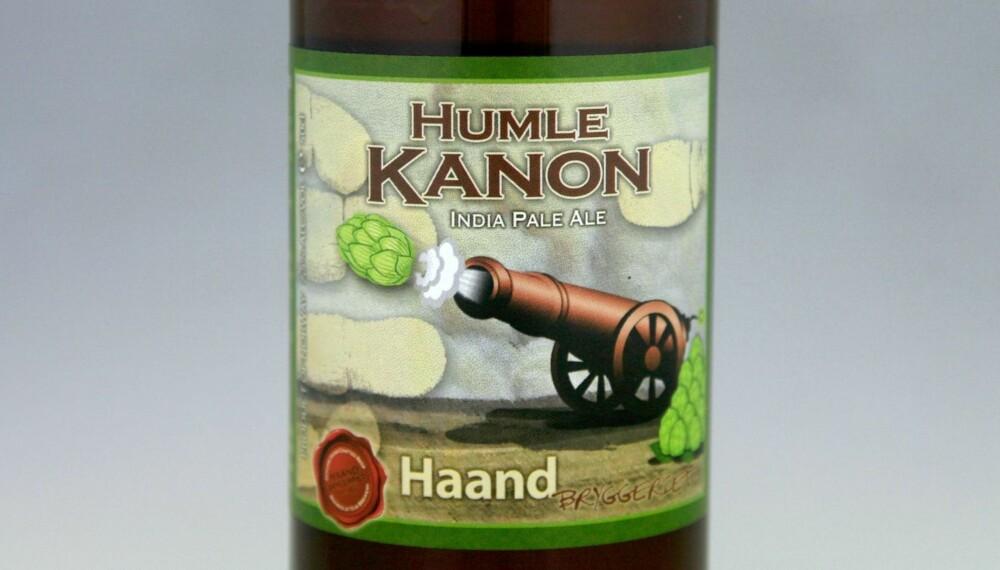 TIL RIBBE: Haandbryggeriet Humlekanon.