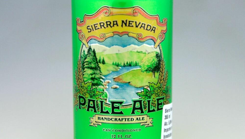 TIL RIBBE: Sierra Nevada Pale Ale.