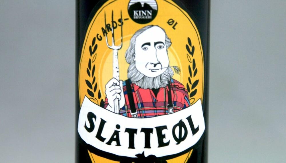 TIL LUTEFISK: Kinn Slåtteøl.