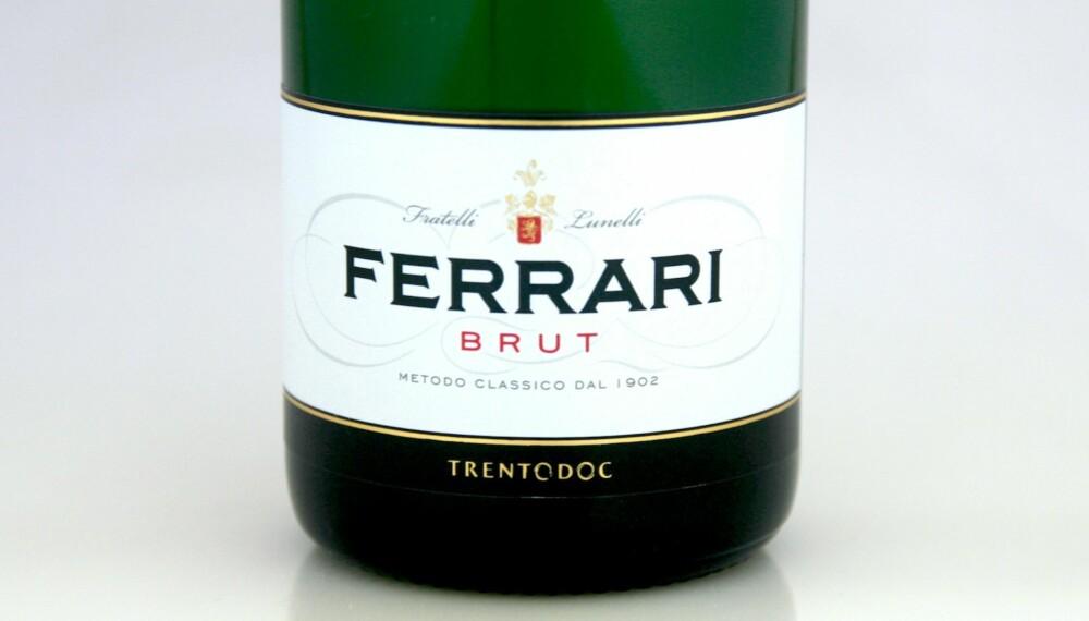 GODT KJØP: Ferrari Trento Brut.