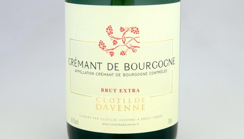 GODT KJØP: Davenne Crémant de Bourgogne Extra Brut.