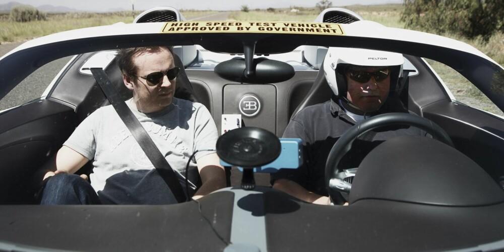 UVEL: Sviende sol + superrask bil = uvel engelskmann.