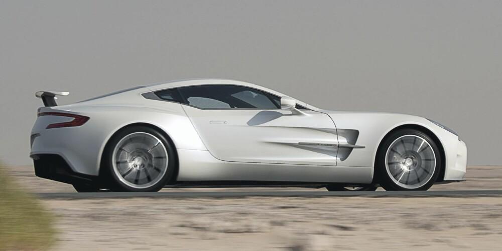 ALDRI LEI: Man blir aldri trett av å studere Aston Martin One-77. Den er kunst.