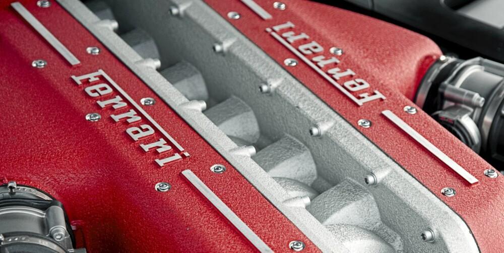 660 HESTER: Tolveren under panseret yter voldsomme 660 hester og 683 Nm.