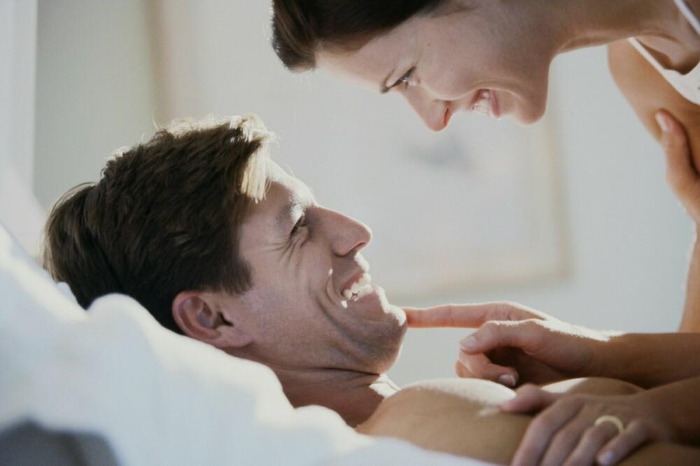 DU OG JEG: God sex gjør deg glad. FOTO: Thinkstock.