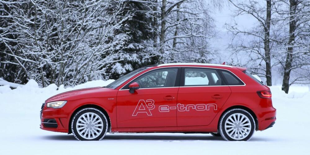 Helt A3utvendig: Det er under karosseriet du finner de store endringene på Audi A3 e-tron.