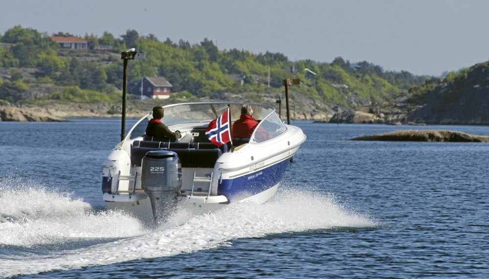 PERFEKT SOMMERBÅT: En brukt daycruiser gir deg mye båtglede for pengene.