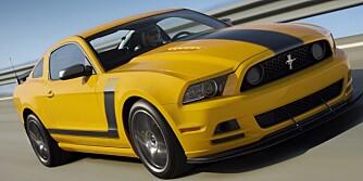 BEDRE KJØP: 2013 Mustang Boss 302 Laguna Seca. Foto: Ford