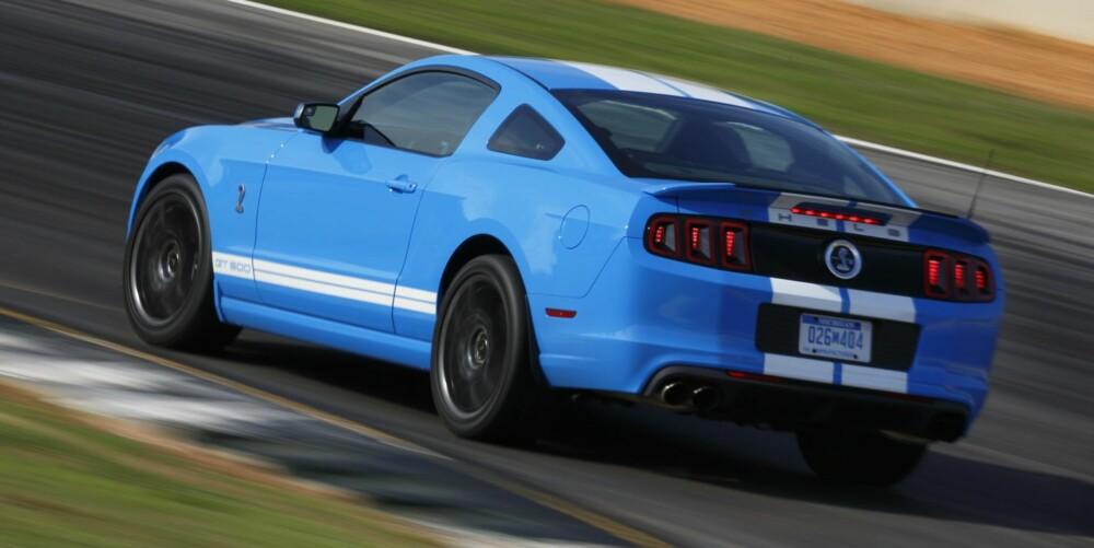 SYKT RASKT: Ford Mustang Shelby GT500. Foto: Ford