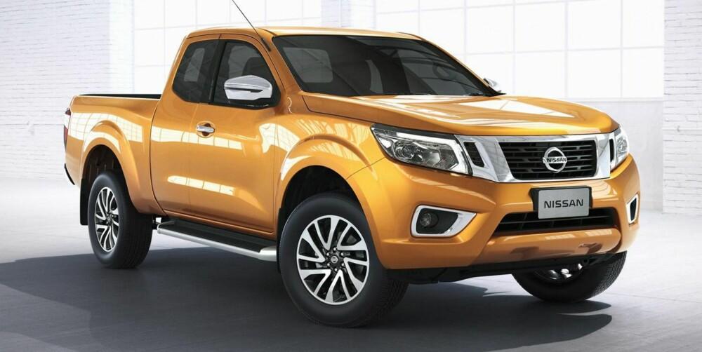 NY: Nissan Navara kan som før fås som singlecab eller doublecab. FOTO: Nissan