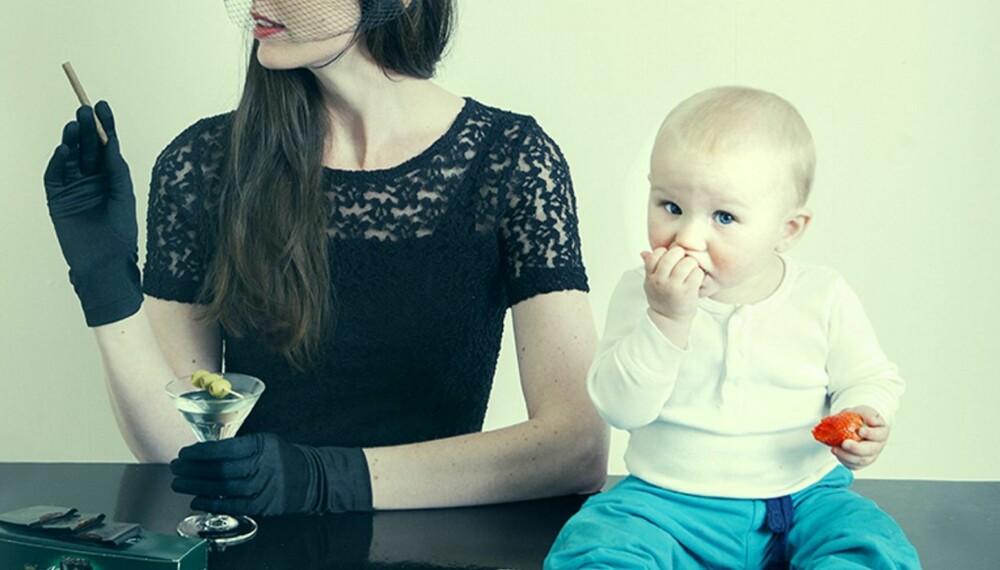 BARNLØS: - Da min mor var like gammel som meg, hadde hun allerede vært tobarnsmor i åtte år.