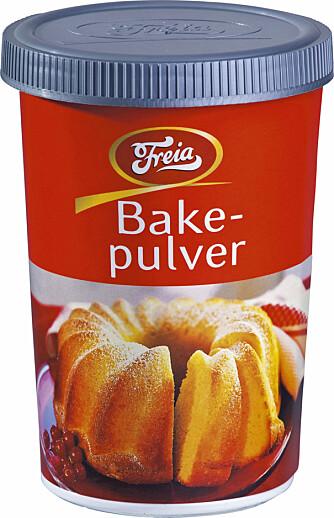 RENGJØRINGSMIDDEL: Bakepulver fungerer bra på blant fastbrente matrester.