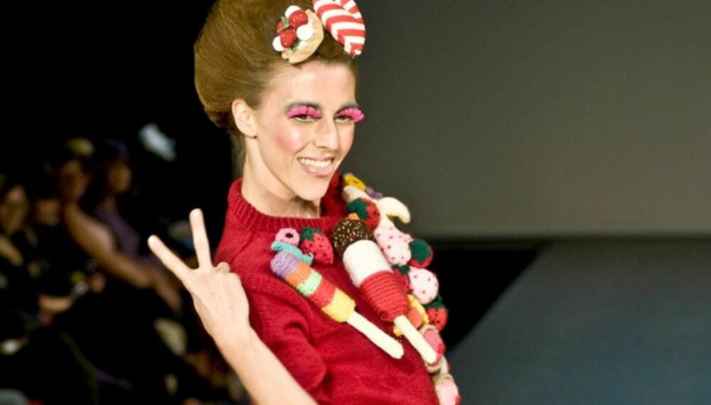 NORSK DESIGN: Lady GaGa digger de lekne klærne til Fam Irvoll. Vi gleder oss også til visningen på onsdag!