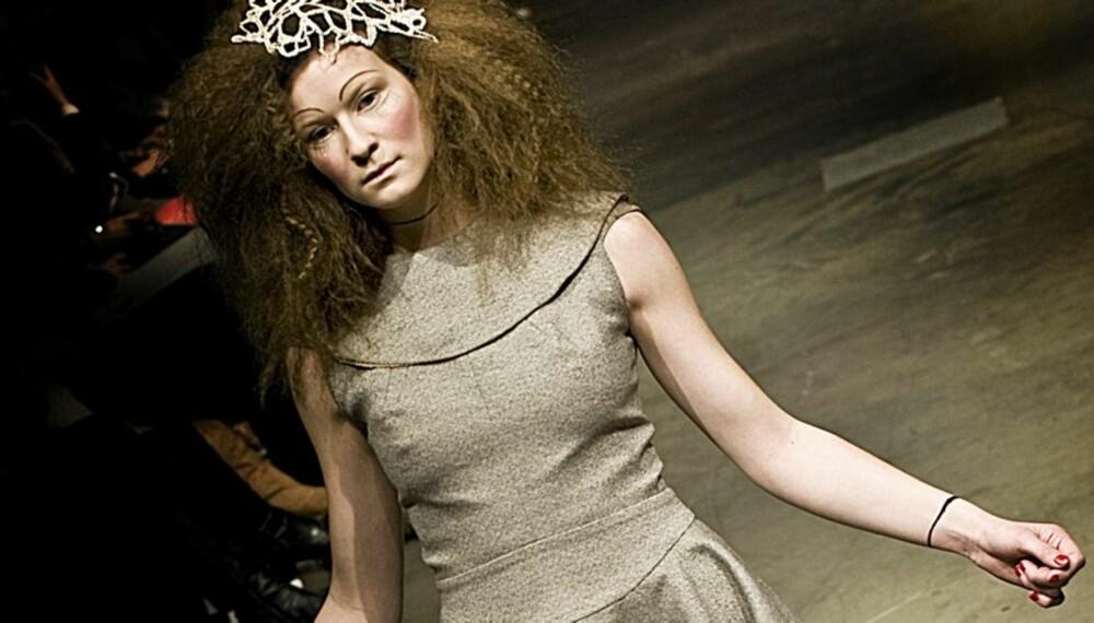 FAVORITT: Tina Haagensen seiler opp som vår favoritt fra Oslo Fashion Week