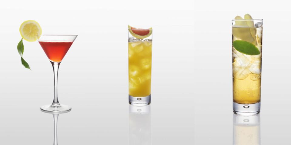 COGNAC: Lag friske drinker av cognac.