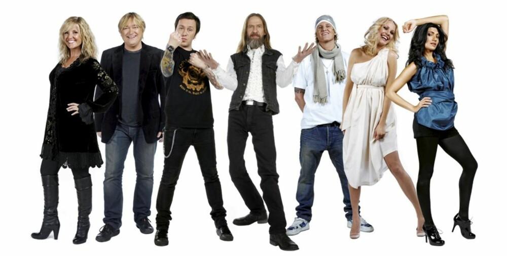 """TV 2-KAMP: Samsaya deltar i """"Det store korslaget"""", og konkurrerer mot Hanne Krogh, Jørn Hoel, Torkjel Rød, Elg, Vinnie og Venke Knutson."""