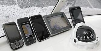 Test Håndholdte GPS
