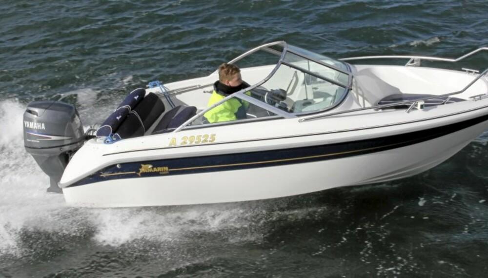 SMÅBÅTER: Vi har testet små båter for skjærgården.