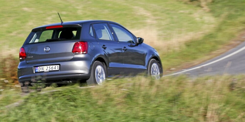 MORSOM: Det er et kompliment når en bil med 70 hk er morsom å kjøre.