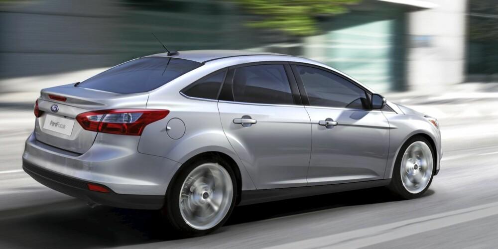 FULL FRES: Ford lover å levere kjøreegenskaper i toppklasse. Erfaringsmessig gjør de det.