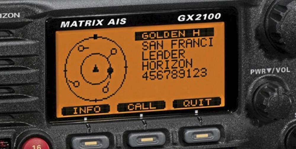 Nyhet Standard Horizon VHF AIS