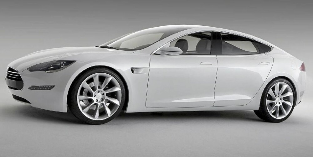 EL-VIDUNDER: Tesla S er en spydspiss i retning den fremtidige elbilverden.