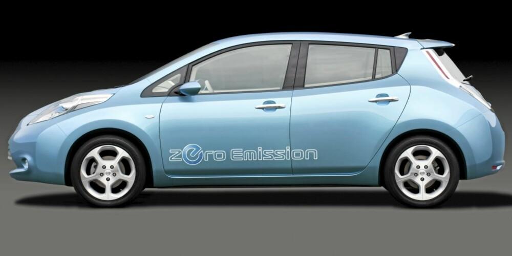 OG LITT FRANSK: For det er ikke vanskelig å se på linjene at Nissan og Renault har en tett allianse.