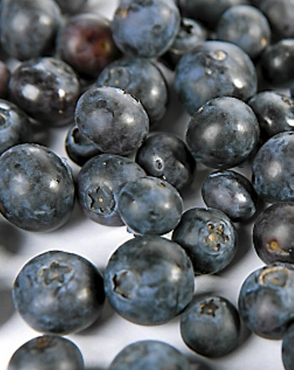 Frukt og bær inngår i flere av måltidene i Isodietten.
