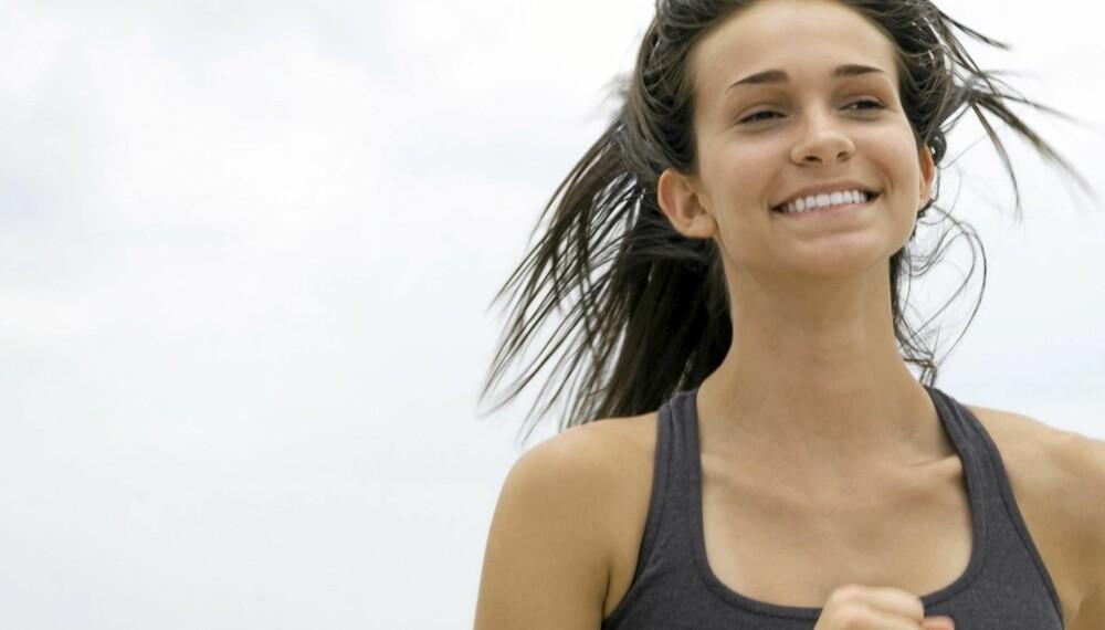 I TRENINGSRUS: Kjært barn har mange navn, treningsrus kalles også runner's high, løpeorgasme og endorfinkick.