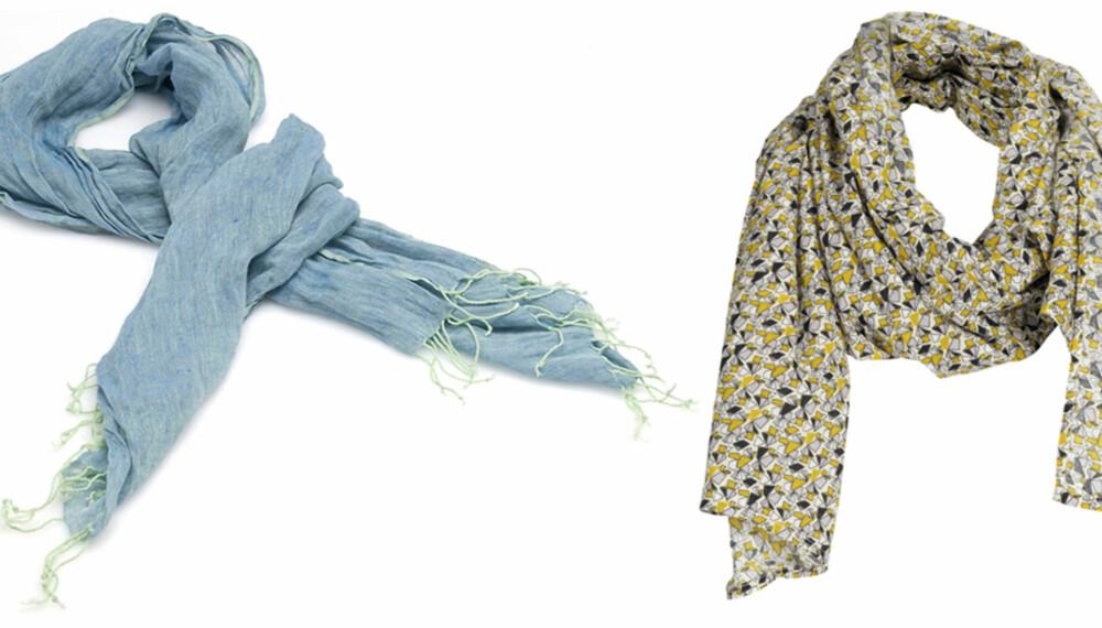 FRA VENSTRE: Benetton (kr 329), Vero Moda (kr 120).