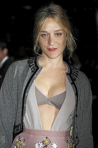 FØLGER TRENDEN: Det gjorde også skuespiller Chloe Sevigny.