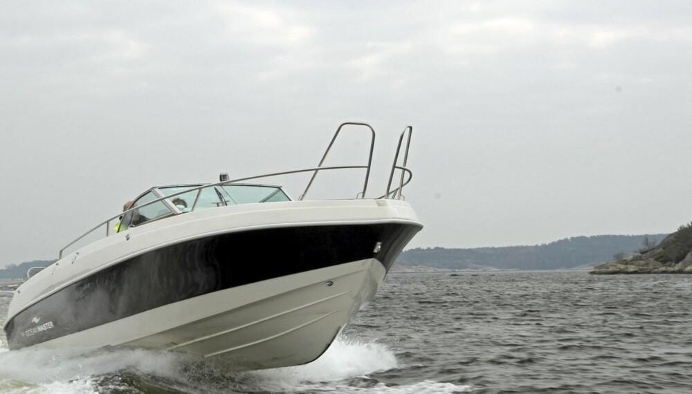 """HOLDER VANN: Produsenten kaller båten for """"""""en aktivitetsplattform til sjøs"""""""", og beskrivelsen holder vann."""