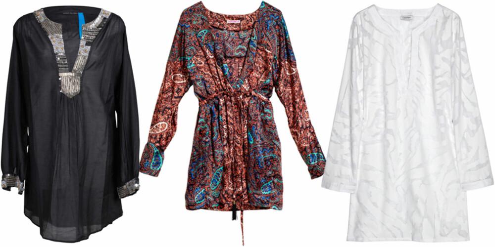 FRA VENSTRE: Vivikes Lux Edition (kr 799), H&M (kr 199), Calvin Klein (kr 509).